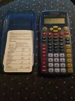 Texas Instruments TI-I5 Student Calculator Blue Tested Works