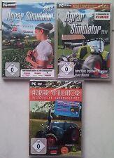 Agrar Simulator 2012 + Agrar 2011 + Historische Landmaschinen Bauernhof PC