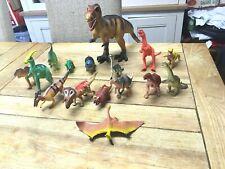 10PC Set da gioco Dinosauro Giocattolo Animali Action Figure Set T Rex Triceratopo