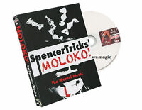 MOLOKO! by Spencer Tricks (Gimmick & DVD) Magic Trick MENTALISM NEW