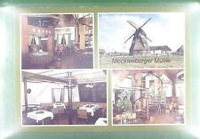 CPA Germany Mecklenburg Windmill Moulin a Vent Windmühle Wiatrak Folklore w53