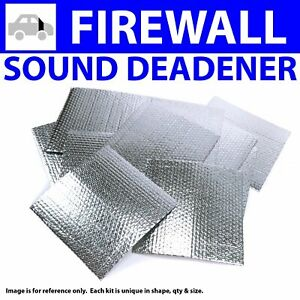 Heat & Sound Deadener for Chevy Truck 1941-1946Type II Stg1 Firewall Kit