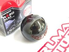 RAZO ALUMINUM MANUAL SHIFT KNOB 140G BLACK ROUND RA24
