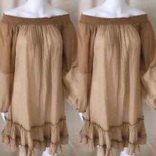 Polka Dot Casual Regular Size 100% Cotton Dresses for Women