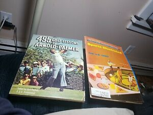 3- 495 GOLF LESSONS BY ARNOLD PALMER Paperback Book 1968 Sports Illustrated lot