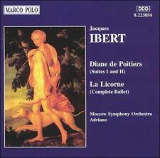 IBERT: Diane de Poitiers / La Licorne 2009 by Moscow Symphony Orchestr ExLibrary