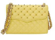 New Rebecca Minkoff Quilted Mini Affair W/ Studs Crossbody Bag H324I001S $225