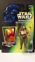 "Kenner Star Wars POTF 1997 3.75"" Malakili (Rancor Keeper) Action Figure Sealed"