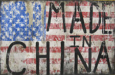 Made In China by Greg Haberny  - Signed, Hand Finished Ltd Edit Silkscreen of 50