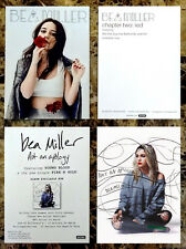 Bea Miller Chapter | Not An Apology Ltd Ed Rare Postcards Lot +Free Pop Stickers