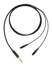 """Corpse Cable GraveDigger for AUDEZE LCD-2, LCD-3, LCD-4, LCD-X, LCD-XC (1/4"""") 6'"""