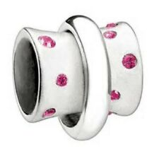 AUTHENTIC CHAMILIA STERLING SILVER STELLA FUCHSIA SWAROVSKI NEW BEAD 2040-0006