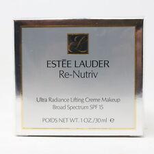 Estee Lauder Re-Nutriv Ultra Radiance Lifting Creme Makeup 1oz 4C3 Soft Tan New