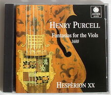 HESPERION XX . PURCELL . FANTASIAS FOR THE VIOLS 1680 . SAVALL,KUIJKEN . ASTREE