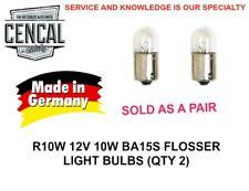 R10W 12V 10W BA15S FLOSSER LIGHT BULBS (QTY 2)   N177192  5008  89 39393 14025