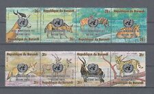Burundi 1205 - 12 Animals of Africa (MNH)