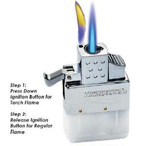 KGM Vector MULTI-FLAME Flip Top ** REGULAR & TORCH ** Butane Lighter Insert NEW