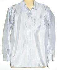 Boys grey white SPEC OCC l/s shirt sz 10 NEW bnwt
