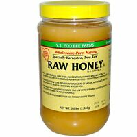Y.S. Eco Bee Farms, Raw Honey, 3.0 lbs (1,360 g), Eco Bee Farms, Unpasteurized