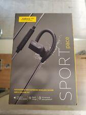 Jabra Sport Pace Wireless Bluetooth Music Earbuds Yellow NEW
