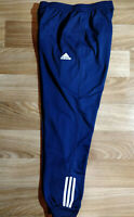 Adidas 90's Vintage Mens Tracksuit Pants Trousers Training Navy Blue