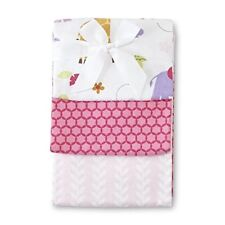 Infant 3-Pack Receiving Blankets - Tumble Jungle by NoJo