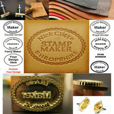 Custom Made Makers Logo Leather Brass Branding Iron Wood Breads Coconuts Stamp