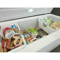 15.6 Cubic Foot Kenmore Chest Freezer with Lock & 2 Baskets