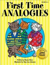 First Time Analogies by Dianne Draze (2005, Paperback)