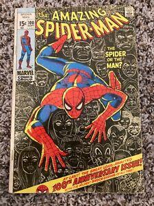 Amazing Spider-Man #100 1971 100th Anniversary Issue Marvel