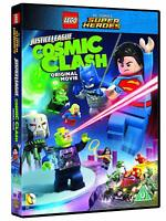 Brand New LEGO Justice League - Cosmic Clash DVD Free Postage