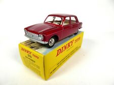 Peugeot 204 red vermillon - 1:43 DINKY TOYS 510 DIECAST MODEL CAR MB421