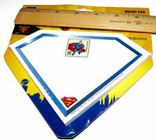 US Post Office Stamp Collectibles Superman Memo Pad Celebrate the Century