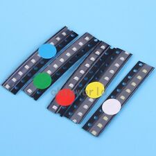 50pcs SMD 0805 LED Diodes Assortment Kits 5Values Red Blue Green Yellow White de