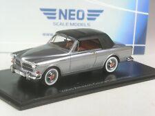 (KI-01-20) Neo Scale Models Volvo Amazone Coune Convertible en 1:43 IN Emb.orig