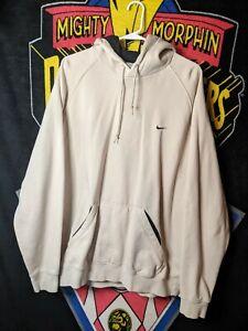 Nike Men's Tan pullover hoodie size XXL