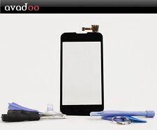 avadoo® LG E455 Optimus L5 II 2 Displayglas Schwarz inkl. Werkzeugset & Beschre.
