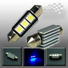 36mm C5W 5050 SMD LED Festoon Errore Canbus Blu Interni Lampadina