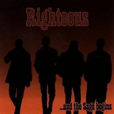 And The Saga Begins; Righteous 2000 CD, Oi! Street Punk, Sweden, Tko Very Good