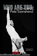 WHO ARE YOU Pete Townshend Paperback Biography Book Updated Ed Bio New
