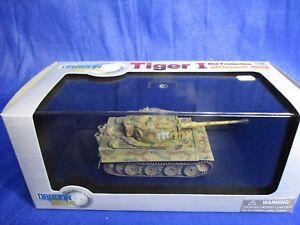 AF721 DRAGON ARMOR TIGER I SD.KFZ.181 W/ZIMMERIT WESTERN 1944 1/72 60416 WWII