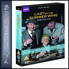 LAST OF THE SUMMER WINE - SERIES 21 & 22 *BRAND NEW DVD *