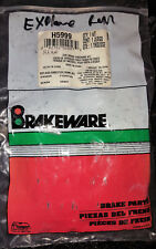 Brakeware H5999 Rear Disc Brake Hardware Kit Ford Explorer Mountaineer, Windstar