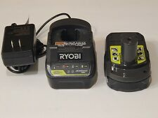 Genuine Ryobi P189 Battery and P118B Li-Ion One+ Charger Brand New Combo