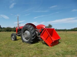 TTB120 - Tipping Transport Box - 1.2m Wide - For Compact Tractors