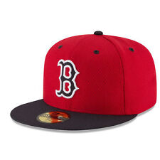Boston Red Sox MLB Diamond Era New Era 59FIFTY Men's Fitted Cap Hat - Size 7 1/4