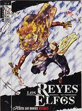 LOS REYES ELFOS: HASTA LOS DIOSES MUEREN de Víctor Santos. Dolmen, 2006.