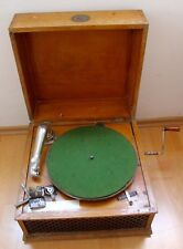 "Antik Grammophon Soundbox Gramophone Phonographe "" HELIPHONE PARIS """
