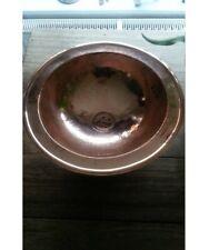 Moroccan Handmade Hammered Round Copper Sink