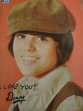 Donny Osmond, Full Page Vintage Pinup, Bobby Sherman, Osmonds Brothers